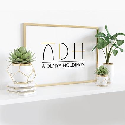 ADH לוגו